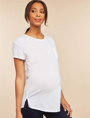 Motherhood Maternity Pocket Tee Maternity T Shirt
