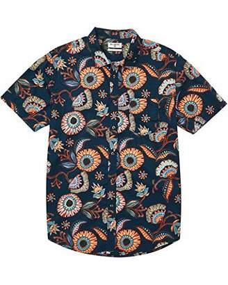Billabong Men's Sundays Floral Short Sleeve Woven Shirt