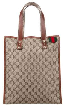 Gucci GG Plus Web Small Loop Tote