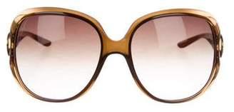 Christian Dior Gradient Oversize Sunglasses