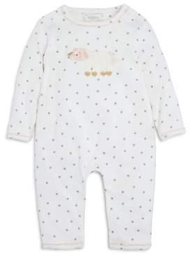 Bloomingdale's Albetta Girls' Crochet Unicorn Star-Print Coverall, Baby - 100% Exclusive