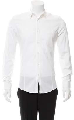 Golden Goose Woven Button-Up Shirt