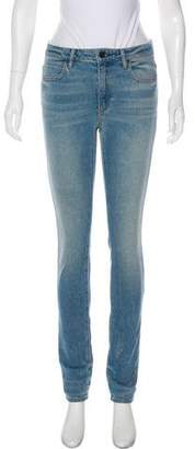 Alexander Wang Denim x Mid-Rise Skinny Jeans w/ Tags