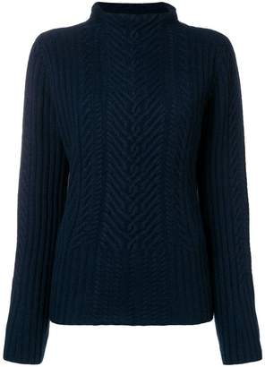 Hemisphere cashmere cable knit sweater