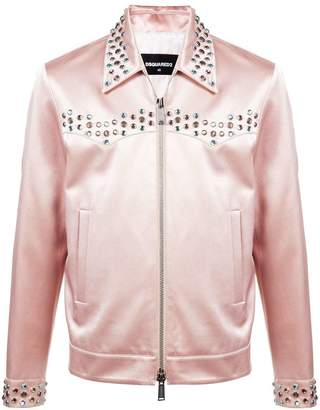 DSQUARED2 zipped shirt jacket