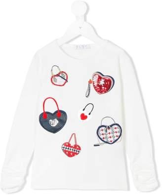 Elsy embellished sweatshirt