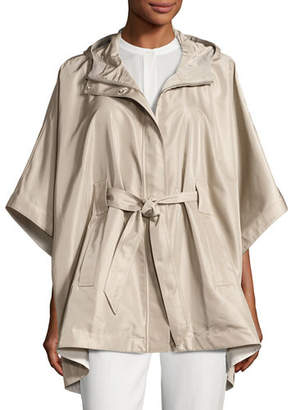 Loro Piana Judith Hooded Waterproof Cape