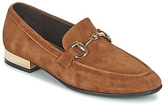 JB Martin ADAGE women's Loafers / Casual Shoes in Brown