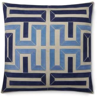 Williams-Sonoma Pinto Suede Pillow, Blue