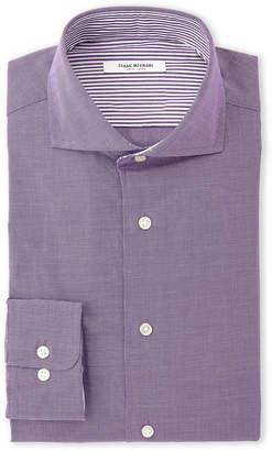 Isaac Mizrahi Grape Slim Fit Dress Shirt