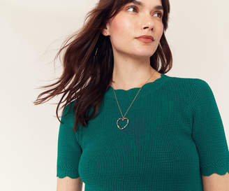 Oasis COLOURED HEART NECKLACE