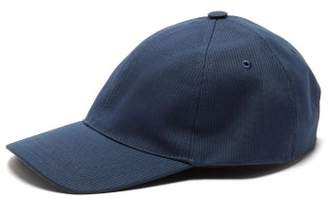 A.P.C. Jacquard Cotton Cap - Mens - Navy