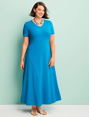 Talbots Womans Exclusive Casual Jersey Maxi Dress