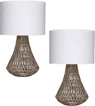 Amalfi by Rangoni Capri Table Lamp (Set of 2)