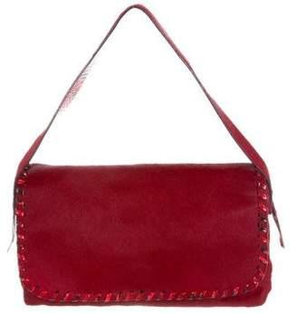 Ungaro Snakeskin & Ponyhair Shoulder Bag