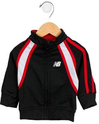 New Balance Boys' Athletic Mock Neck Jacket