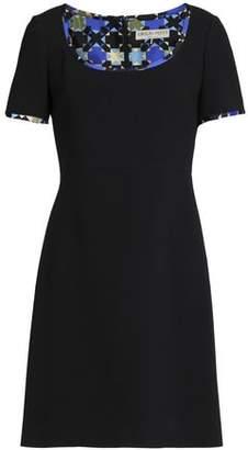 Emilio Pucci Two-Tone Wool Mini Dress