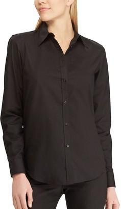 Chaps Women's Solid No Iron Shirt