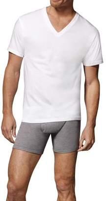 Hanes Men's ComfortSoft SUPER VALUE Tagless V-Neck Undershirt, 10-Pack