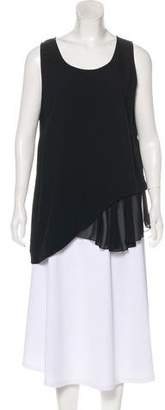 Philosophy di Alberta Ferretti Sleeveless Scoop Neck Top
