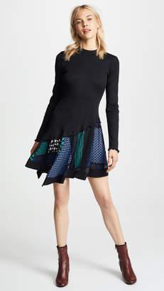 Derek Lam 10 Crosby Ribbed Knit Dress