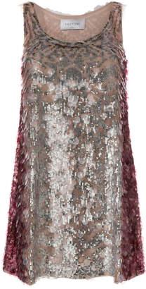 Valentino sequin mini dress