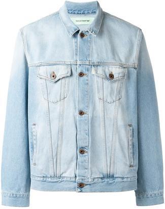 Off-White denim jacket $776 thestylecure.com