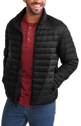 Swiss+Tech Men's Puffer Jacket Up To Size 5Xl