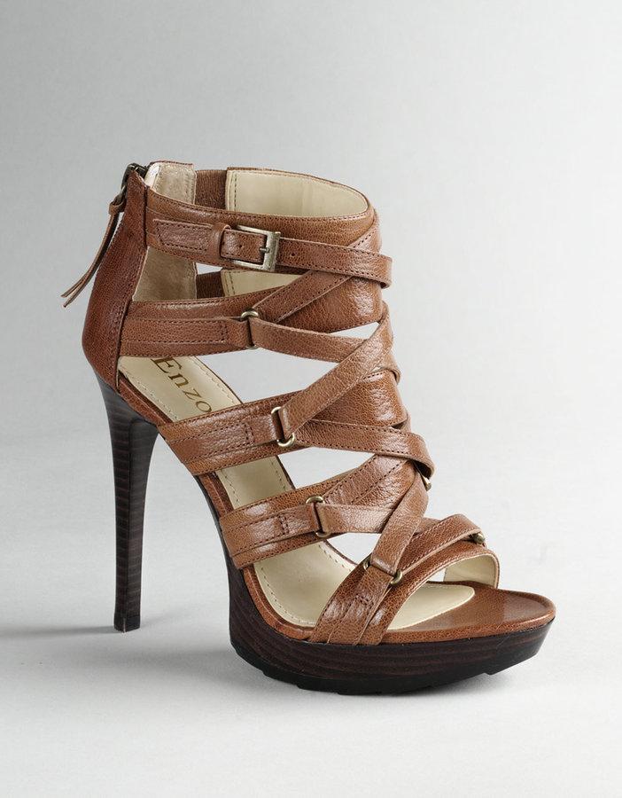 ENZO ANGIOLINI Leonis Strappy Platform Sandals