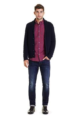 Country Road Slim Melange Gingham Shirt