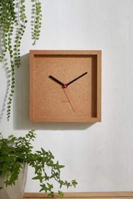 Karlsson Cork Square Wall Clock