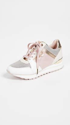 8167c9e10ee7 MICHAEL Michael Kors Beige Women s Sneakers - ShopStyle