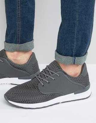 Brave Soul Breckham Sneakers In Gray