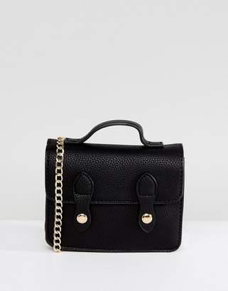 Asos Mini Satchel Bag With Top Handle