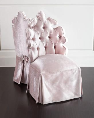 Haute House Isabella Blush Vanity Seat
