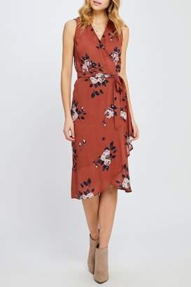 Gentle Fawn Floral Wrap Dress