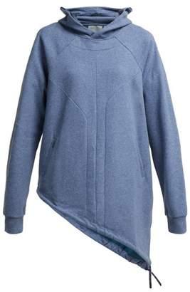 Lndr - Dupla Cotton Blend Hooded Sweatshirt - Womens - Light Blue