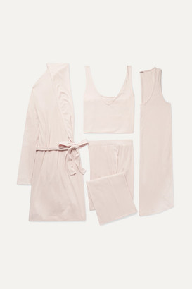 BEIGE Skin - Ribbed Jersey Gift Set
