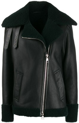 Karl Lagerfeld Paris shearling jacket