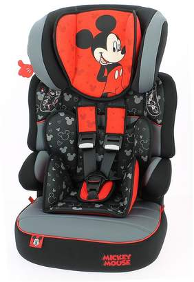 Disney Mickey Mouse Beline SP Group 123 Car High Back Booster Seat