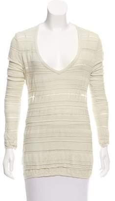 Kimberly Ovitz Long Sleeve Open Back Sweater