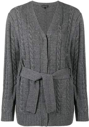 Blend of America Cashmere In Love cashmere cable knit cardigan