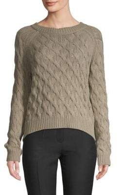 Inhabit Cable-Knit Cotton Sweater