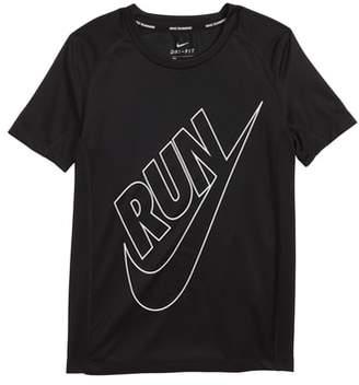 Nike Dry Miler GFX Running Shirt