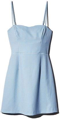 a8d82578983 French Connection Tie-Back Gingham Mini Dress - 100% Exclusive
