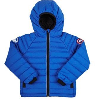 Canada Goose Men's Sherwood Down Channel-Quilted Coat-BLUE $395 thestylecure.com