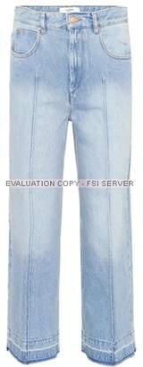 Etoile Isabel Marant Isabel Marant, Étoile Cabrio cropped jeans
