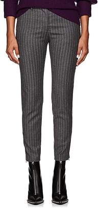 Altuzarra Women's Henri Pinstriped Wool-Blend Flannel Slim Trousers