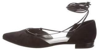Stuart Weitzman Gilligan Pointed-Toe Flats