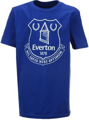 Outerstuff' Everton Fc Club Team Primary Logo T-Shirt, Big Boys (8-20) $18 thestylecure.com